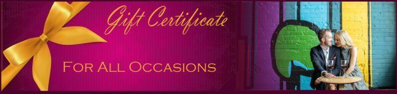 gift certificate mile high wine tasting tours